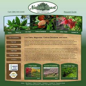 Green Industry Examples Nursery Websites Garden Center